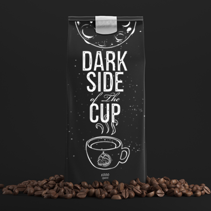 "Упаковка ""Dark side of the cup"""