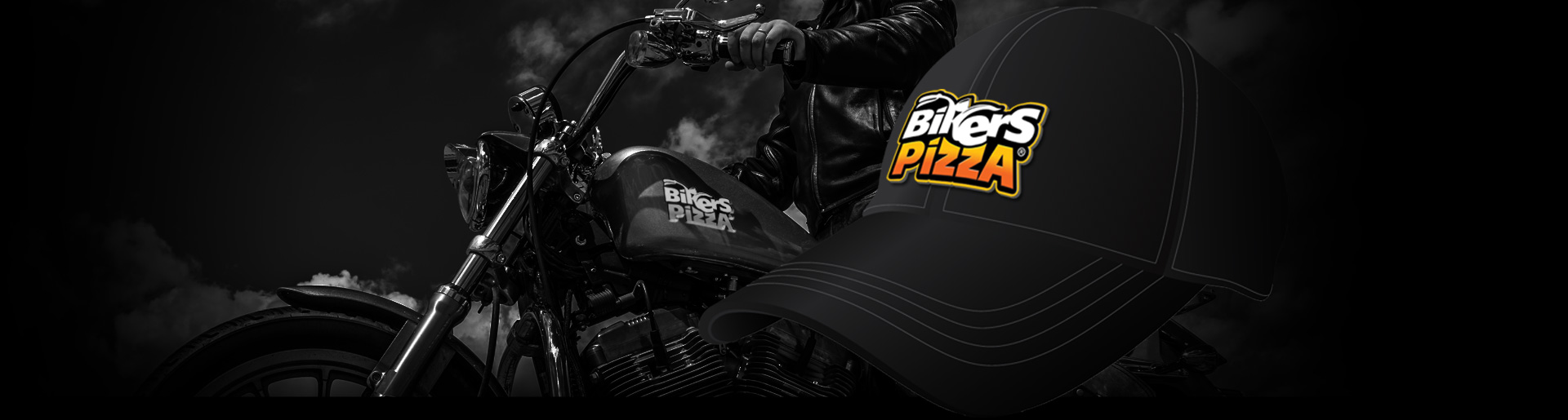 "Логотип ""Bikers pizza"""